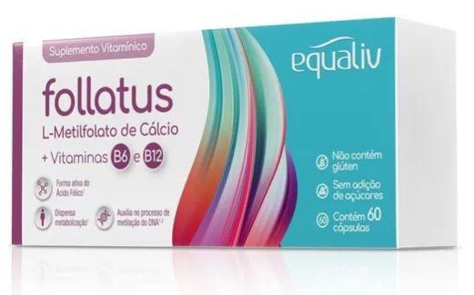 FOLLATUS - 60 CÁPSULAS - EQUALIV