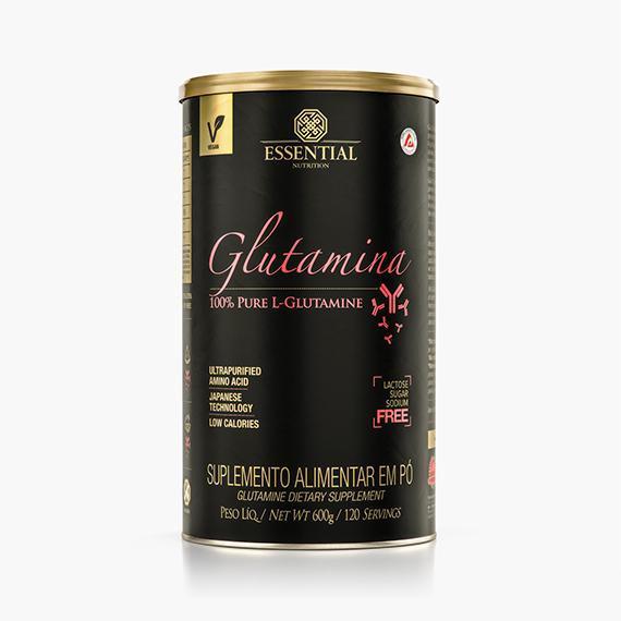 GLUTAMINA - 600g - ESSENTIAL