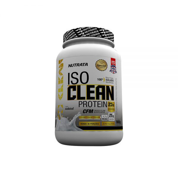ISO CLEAN PROTEIN - 900GR - NUTRATA