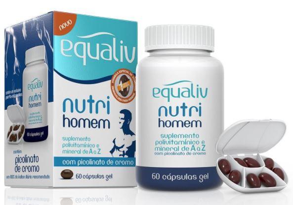NUTRI HOMEM - 60 CÁPSULAS - EQUALIV