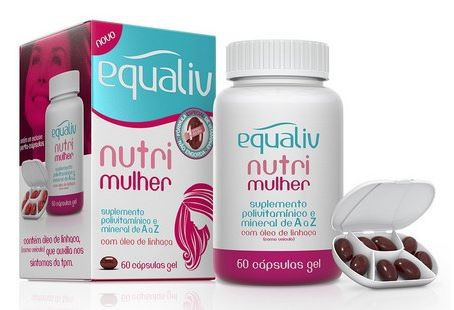 NUTRI MULHER - 60 CÁPSULAS - EQUALIV