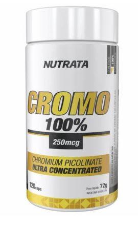 PICOLINATO DE CROMO - 120 CAPS - NUTRATA