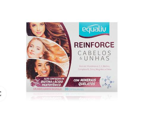 REINFORCE CABELOS & UNHAS - 60 CAPS - EQUALIV