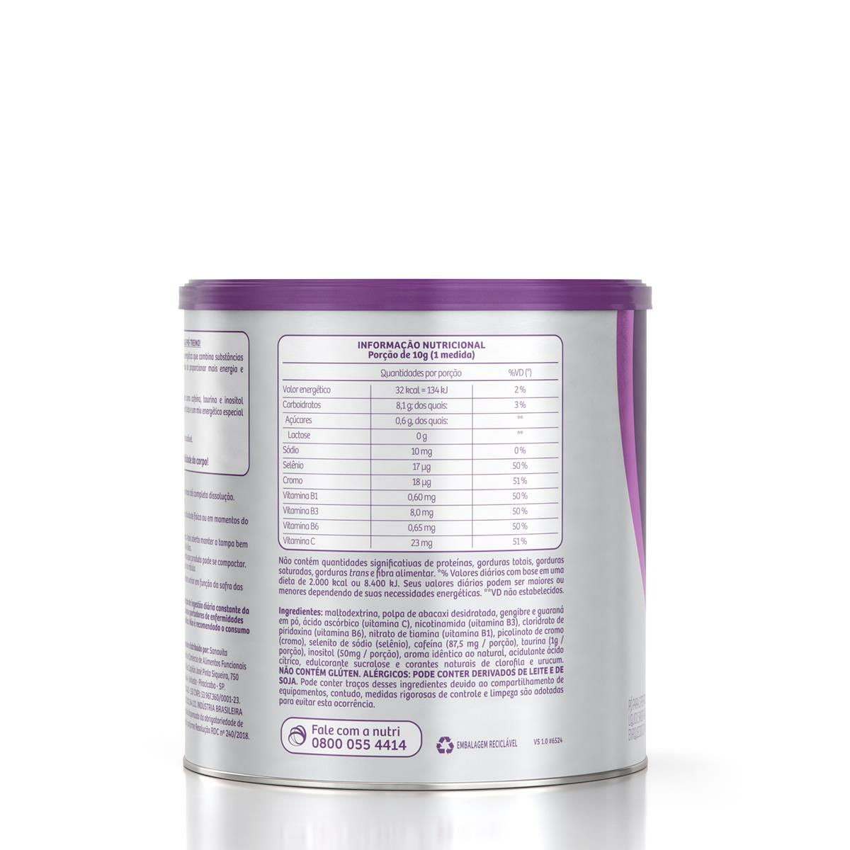 THERMO ENERGY - ABACAXI COM HORTELÃ - 300G - SANAVITA