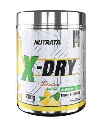 X - DRY SABOR ABACAXI COM HORTELÃ - 200g - NUTRATA