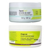 Deva Curl Heaven In Hair 250g E Deva Curl Supercream 250g