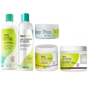 Decadence 355ml, Styling cream e Supercream 500g. Heaven in hair 250g