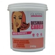 Desmaia Cabelo Máscara Mousse Hidratante Glatten 240g