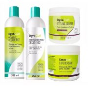 Deva Curl Decadence 355ml Supercream 500g e Styling 500g