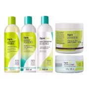 Deva Curl Decadence e Low Poo e Supercream e Heaven in Hair