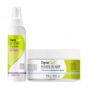 Deva Curl Heaven in Hair 250g e Deva Curl Set It Free 120ml