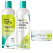 Deva Curl Kit Decadence 2x355ml E Heaven In Hair 250g