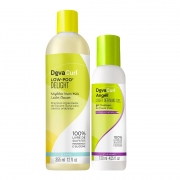Deva Curl Low Poo Delight 355ml e Angell 120ml