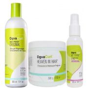 Deva Curl No Poo 355ml Heaven In Hair 500g Set It Free 120ml