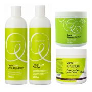 Deva Curl No Poo+one Condition+supercream E Heaven In Hair