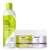Deva Curl No Poo Original 355ml e Styling Cream 250g
