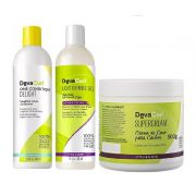 Deva Curl One Condition Delight e Angell 2x355ml e Supercream 500g