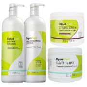 Deva Curl Original 2x1000, Styling Cream e Heaven Hair 500g