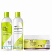 Deva Curl Original 2x355ml e Supercream 250g