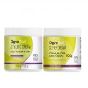 Deva Curl Styling Cream e Supercream 2x500g
