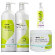 Deva Curl Tradicional e Heaven In Hair e Set It Free