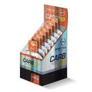 Display Carb Up BCAA Plus Gel 10UN-30G Laranja