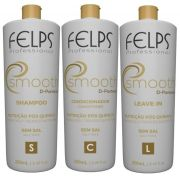 felps Kit Trio Smooth Nutrição Pós Química 3x250ml