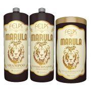 Felps Marula Kit de Hipernutrição - 3 Produtos (Masc 1Kg)