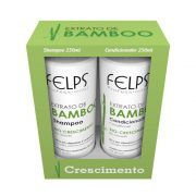 Kit Home Care Xmix Extrato De Bamboo Felps 2x250Ml
