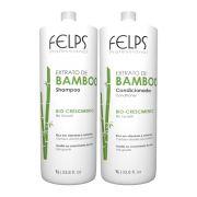 Kit Profissional Felps Extrato de Bamboo 2x1000ml