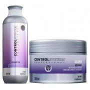 Kit Control System Shampoo e Máscara Silver (2 produtos)
