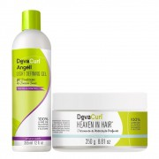 Kit Deva Curl Angell Light 355ml e Heaven in Hair 250g