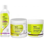 Kit Deva Curl Angell Styling Cream Super Cream 500g