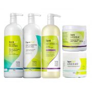 Kit Deva Curl Decadence, Angell, Supercream E Heaven In Hair