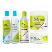 kit Deva Curl Decadence e Angell e Heaven e Styling