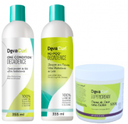Kit Deva Curl Decadence e Supercream