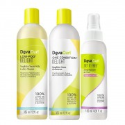 Kit Deva Curl Delight 2x355ml e Deva Curl Set it Free 120ml