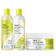 Kit Deva Curl Delight 2x355ml e Heaven in Hair 250g
