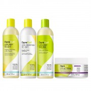 Kit Deva Curl Delight e Original 3x355ml e Styling Cream 250g