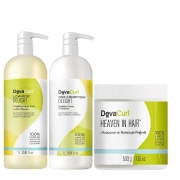 Kit Deva Curl Delight Profissional e Heaven In Hair 500g