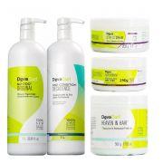 Kit Deva Curl Super Cacheados (5 Produtos)