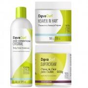 Kit Deva Curl Tratamento Cacheadas (3 Itens)