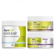 Kit Deva Curl Tratamento e Finalizadores