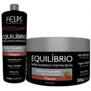 Kit Felps Equilíbrio Shampoo 250ml e Máscara 300g