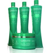 Kit Hidratação Home Line Aloe Vera Evolution 4 x 300ml