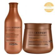 Kit Loréal Shampoo + Máscara Absolut Repair Pós-Química