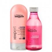 Kit Lumino Contrast Loréal Professionnel Shampoo 250ml e Condicionador 150ml