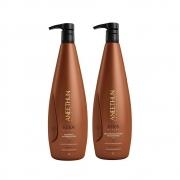 Kit Shampoo e Recondicionador Aneethun Kera System 2x1000ml