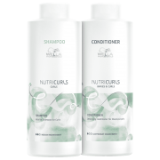 Kit Shampoo e Condicionador Wella Nutricurls 2x1000ml