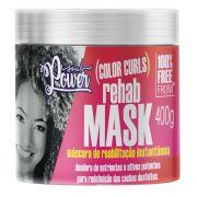 Máscara de Reabilitação Instantânea Soul Power Color Curls Rehab Mask 400g